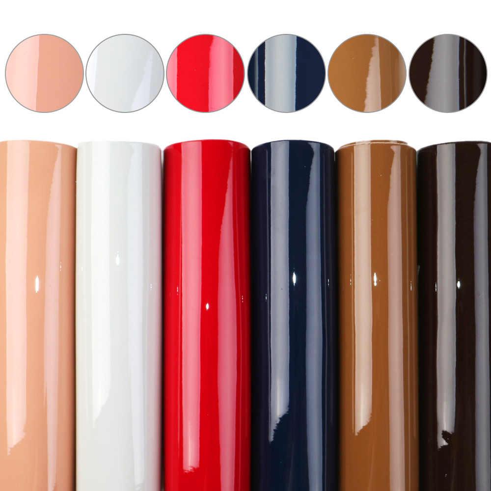 David acessórios 6 pçs/set A5 15*21 centímetros Plain Cor Glitter Couro Sintético Conjunto DIY Arco Brinco Saco de Tecido De Couro Sintético, 1Yc9814