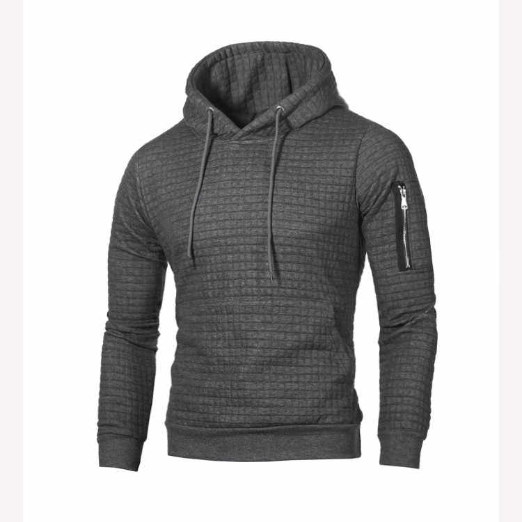 Jodimitty 2020 Trui Mannen Effen Truien Mannen Casual Hooded Sweater Herfst Winter Warm Femme Mannen Kleding Slim Fit Jumpers