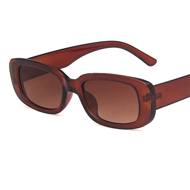 Luxury Brand Travel Small Rectangle Sun Glasses  2