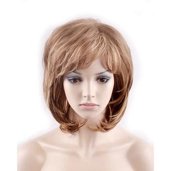 HAIRJOY, pelucas de pelo sintético resistentes al calor de capas esponjosas para mujer, 6 colores disponibles