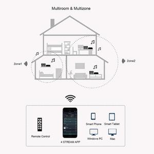 Image 5 - Up2Stream פרו WiFi ו Bluetooth 5.0 HiFi אודיו מקלט לוח עם spotify airplay dlna אינטרנט רדיו והזרמת מוסיקה