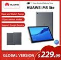 Глобальная версия HUAWEI MediaPad M5 lite планшетный ПК 10,1 дюймов 4 Гб 64 Гб Wi-Fi версии 7500 мАч Android 8,0 поддержка многоязычности