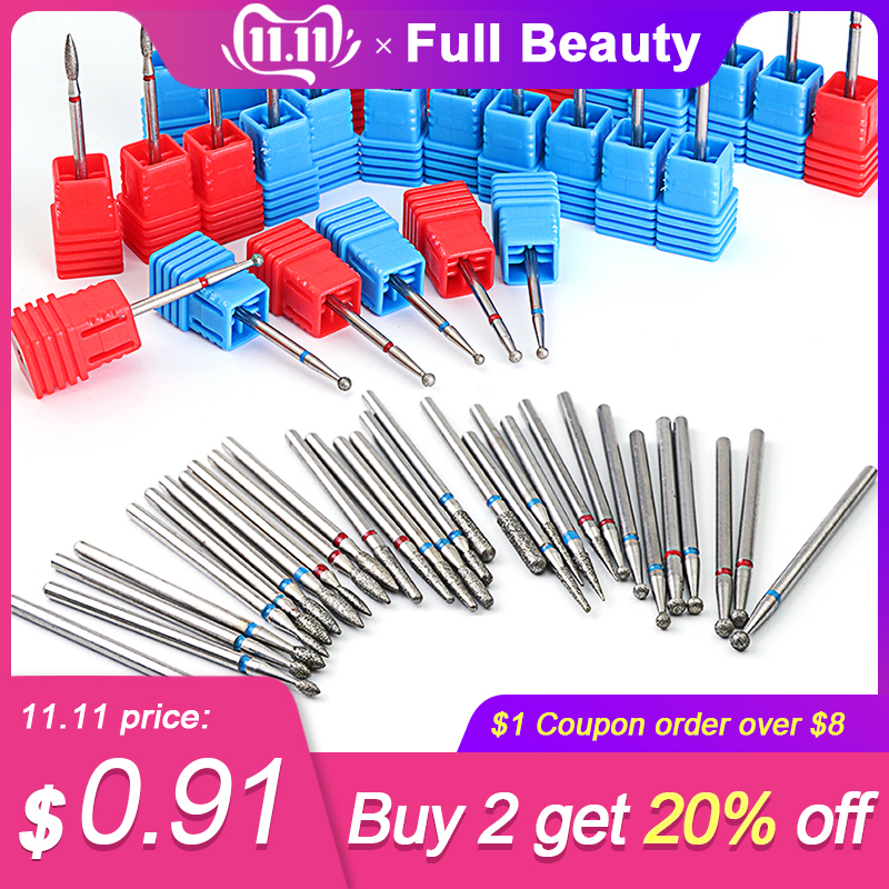 29 Design Safe Nail Drill Bits Burr Diamond Milling Cutter For Manicure Cutters For Removing Gel Varnish Nail Art Tool CH01-29-1