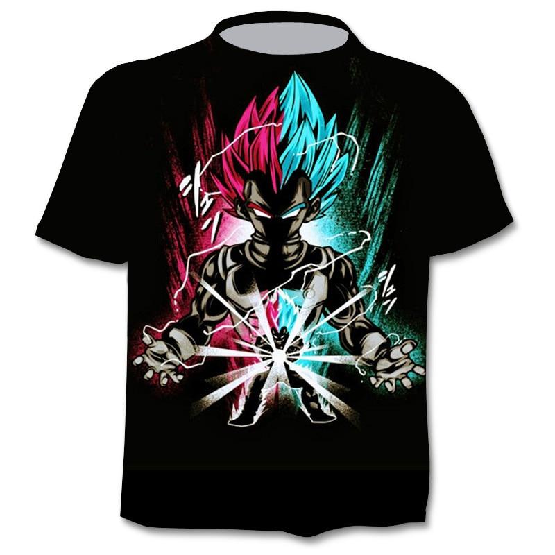 T-shirt graphique du dernier Anime Harajuku en 3D pour hommes, vêtements de rue à la mode pour enfants, amusant, 2021