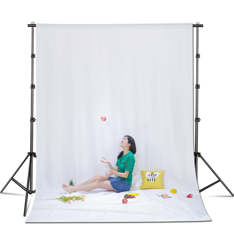 Photography 3X2/3/3.6/4M Backgrounds Backdrops Green Screen Chroma key for Photo Studio Muslin Hand Painted Backdrops 5 Colors(China)