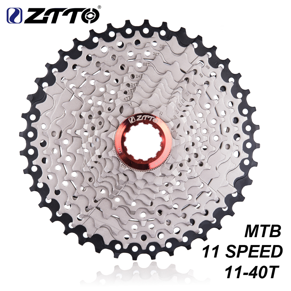 Запчасти ZTTO для горного велосипеда, кассета свободного колеса 11s 22s, 11-40T, совместима с деталями M7000, M8000, M9000, XT, SLX