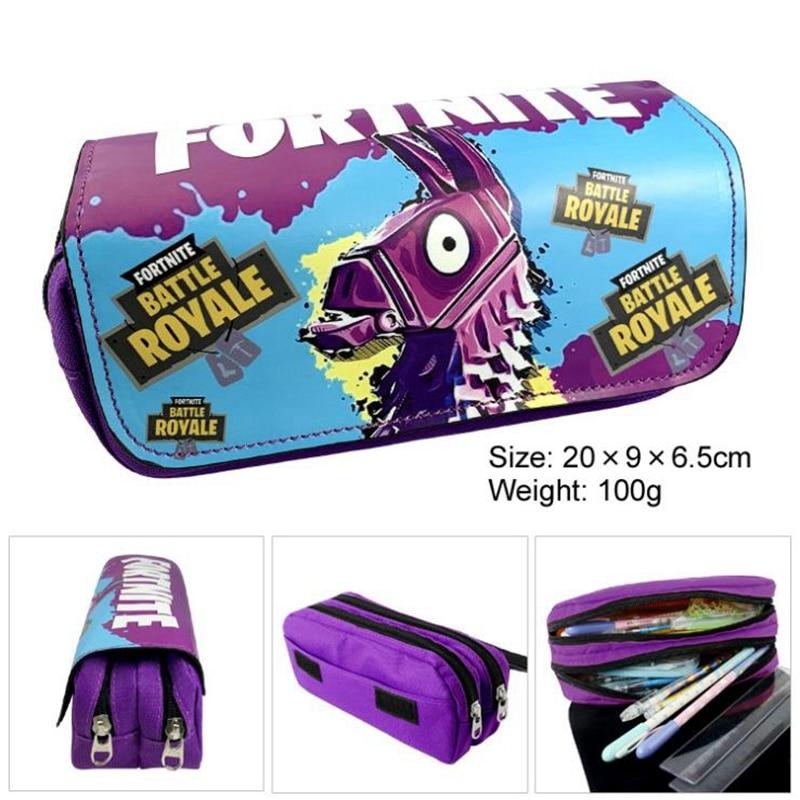 PU Pencil Case Pen Bag School Supplies Stationery Schoolbag Backpack
