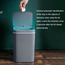 16l lata de lixo inteligente automático sensor lixo lixo bin inteligente sensor elétrico casa lata de lixo para cozinha banheiro lixo