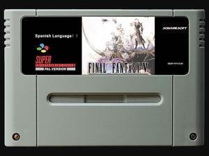 Image 1 - 16Bit משחקים ** FF 5 (ספרדית PAL גרסה!! ספרדית שפה!!)