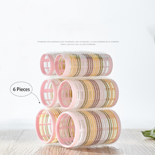 Hair-Rollers Bang Curler Heatless Modeling Bendy Magic Spiral 6pcs Design