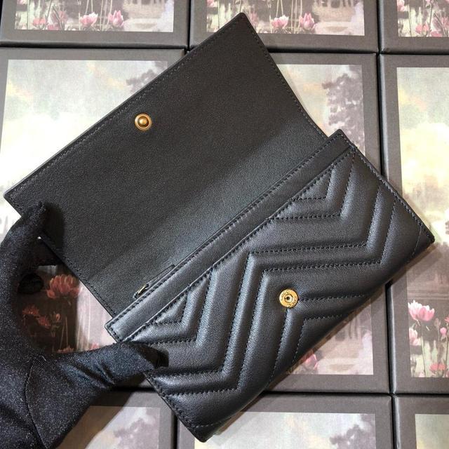 443436G klasyczne kobiety luksusowe prawdziwy prawdziwy skórzany portfel najwyższej jakości projektant marki sprzęgła kobiece casual torebka długi