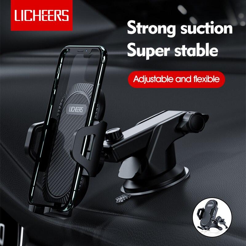 Licheers enayi araç telefonu tutucu cep telefonu tutucu standı araba manyetik GPS montaj desteği iPhone 11 Pro xiaomi Samsung