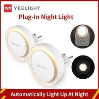 Yeelight Drahtlose LED Nacht Licht Mini Licht Sensor Control 220V EU Stecker Nachtlicht Lampe Betrieben Lampe Für Flur pathway