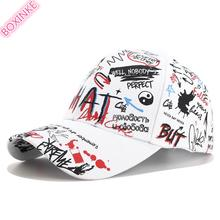 2019 Unisex Letter Neymar Go Real Cotton Adult One Size Casual Dad Hat Gorras New For Graffiti Baseball Cap In All Seasons