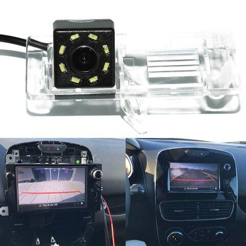 ccd retrovisor do carro estacionamento reverso camera de backup para renault clio 4 iv 2011
