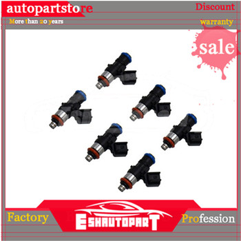 6 Pieces OE 0280158191 Fuel Injector For Ford Mustang MKX 11-16 Lincoln 3.5L 3.7L