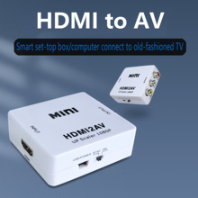 Video-Converter Game PS4 Projector Audio Switchable Hdmi-Compatible AV for Laptop TV