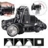 BORUIT RJ-2190 T6 LED Headlamp Zoom 3-Mode Headlight 18650 Battery Flashlight Waterproof For Camping Fishing Head Torch review