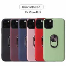 Shockproof magnetic cover funda for iphone XS MAX 360 finger Ring holder case For iphone X XR 7 8 plus 6 6s plus 11 pro max case цена и фото