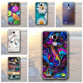 Case For Huawei Ascend Mate3 / Mate7 Luxury Silicon TPU 3D Printing Protective back Covers for Huawei mate 3 amte 7 capa Coque image