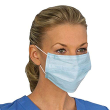 Non Woven Disposable Breathable KN95 Face Mask 3 Layers Medical Earloop Face Surgical Masks Earloops Masks Anti-dust viru