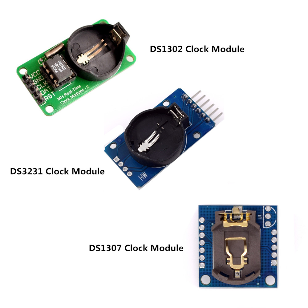 DS3231 AT24C32 IIC Модуль DS1302 точный тактовый модуль DS1307 модуль памяти мини-модуль в реальном времени 3,3 В/5 В