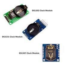 Ds3231 at24c32 iic módulo ds1302 precisão relógio módulo ds1307 módulo de memória mini módulo em tempo real 3.3v/5v