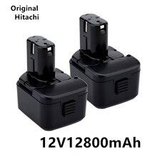Bateria de lítio de alta qualidade 12v12800mah, adequado para hitachi eb1214s 12v eb1220bl eb1212s wr12dmr cd4d dh15dv c5d, ds 12dvf3