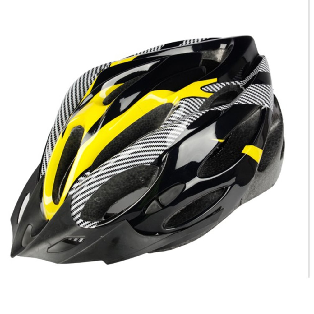 Cycling Helmet Head-Cap Mountain-Bike Carbon-Fiber Safety Outdoor Breathable Hollow title=