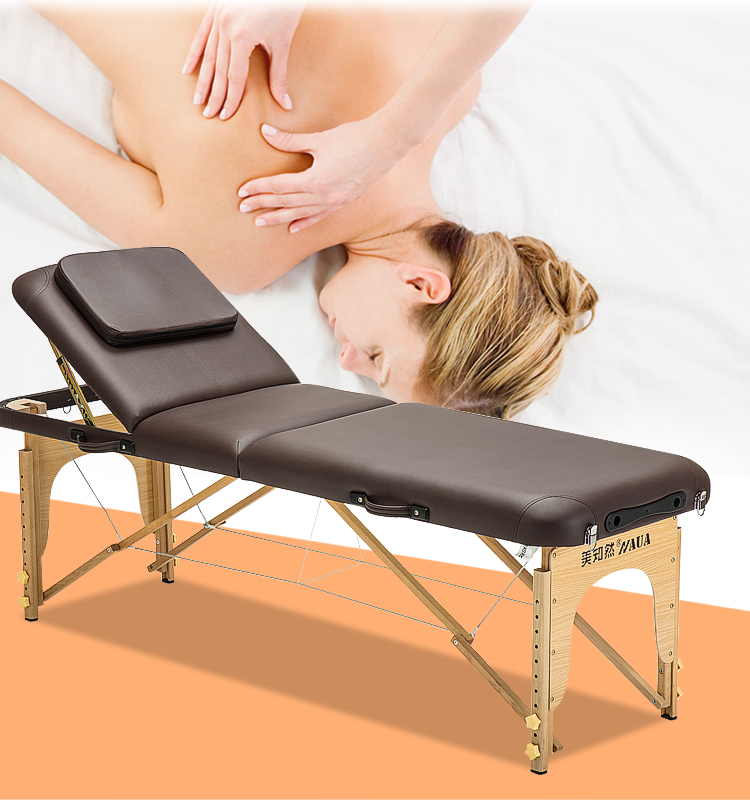 Original Point Folding Massage Bed Massage Bed Portable Home Fire Therapy Needle Moxibustion Beauty Bed
