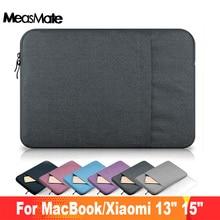 """Luva do portátil caso saco para apple macbook pro 13 """"15 a1707 a1708 saco de manga portátil para mac livro ar 13.3 saco para xiaomi"""