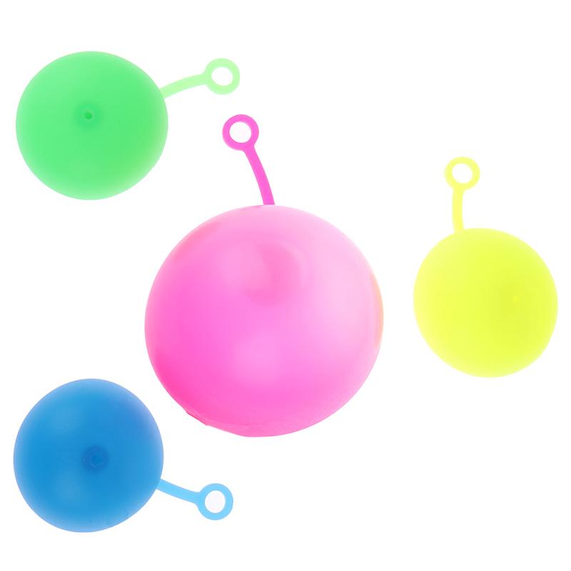 Stretchy Bounce Ball TPR Beach Ball for Children Toys Gifts Blow to 120cm