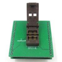 Sot23 SOT23 6 SOT23 6L ic test socket/adaptador programador/burn in socket|Cabos  adaptadores e soquetes|   -