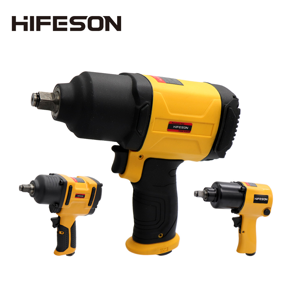 HIFESON High Quality Air Pneumatic Wrench Tool Spanner Power Tools  Tire Remoual Torque Impact Sleeves Spanners Air Tools