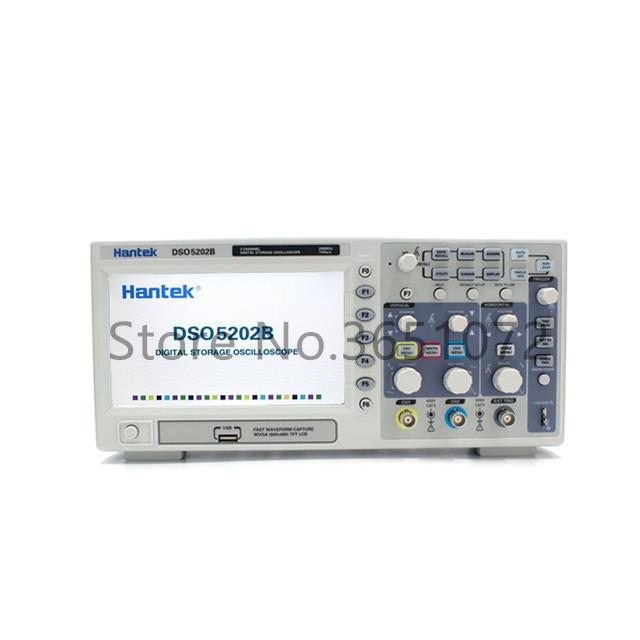 Hantek DSO5202B Digital Multimeter Oscilloscope USB PC Osciloscopio 200MHz 2 CH Automotive Diagnostic-tool