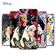 Disney Cartoon Animatie Alice Prinses Voor Samsung Galaxy A9 A8 A7 A6 A5 A3 Ster Plus 2018 2017 2016 Tpu siliconen Telefoon Case