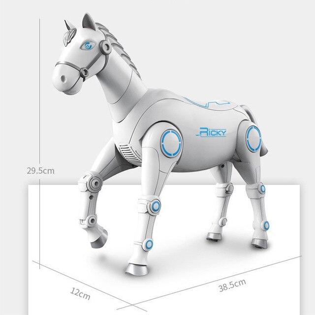 2020 جديد RC الذكية روبوت الحيوان الحصان الروبوت الذكية لعبة للأطفال مع الرقص والغناء RC الذكية لعب الاطفال هدية 4