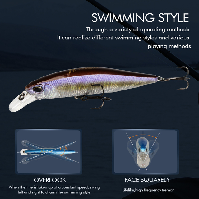 MRERDITH Realis JARKBAIT 100F 14g Hot Model Fishing Lure Hard Bait 24Color For Choose Minnow Quality Professional Depth0.8-1.5m