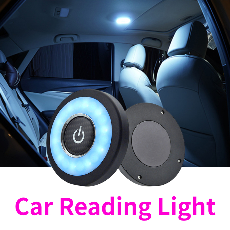 LED Car Interior Reading Light USB Auto Roof Daylight Ceiling Lamp For Honda Jazz City Civic Inspire Accord HRV CRV Odyssey Jade
