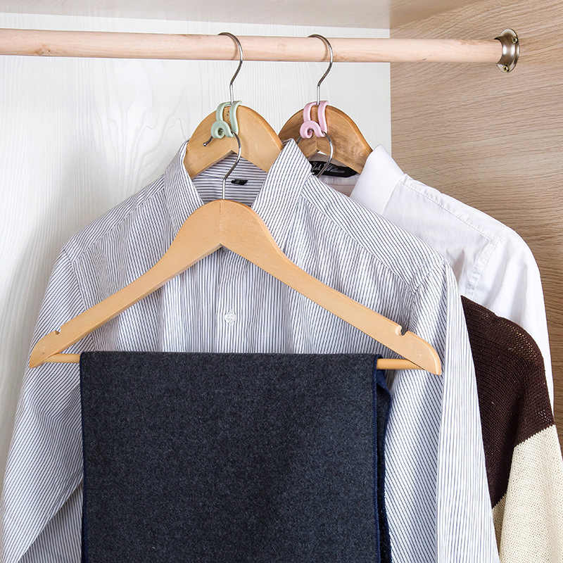 5 חתיכה החלקה טנדם קולב וו מיני וו תינוק קולבי ילדים קולבי קולבי בגדים