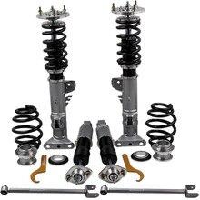 Coilover amortyzator zestaw do BMW E36 3 serii M3 Coupe sedan nieruchomości Coilovers wiosna Adj. Zawieszenie amortyzatora + ramię sterujące