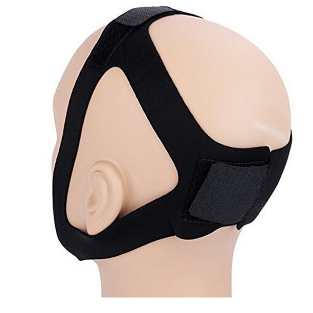 Anti Snore Chin Strap Stop Snoring Snore Belt Sleep Apnea Chin Support Straps for Woman Man Night Sleeping Snore Stopper Bandage 8