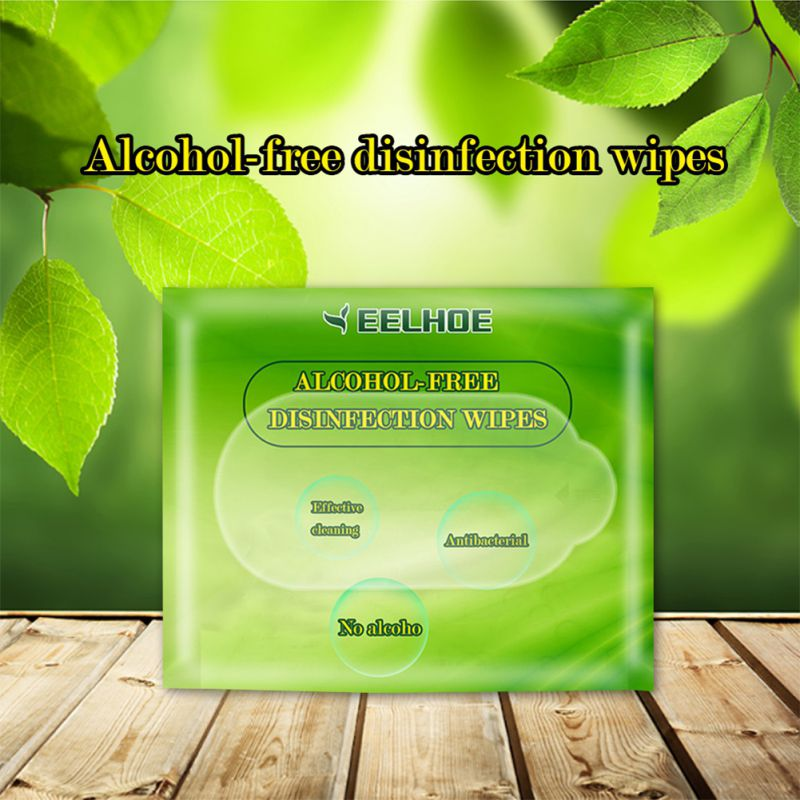 No Alcohol Wipes Disinfection Wipes Mild Disposable Wipes Baby Adult Skin Care Toys Scrub Wipes Antibacterial Disinfection