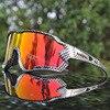 2019 nova marca polarizada óculos de ciclismo mountain bike ciclismo óculos ao ar livre esportes ciclismo óculos uv400 4 lente 17