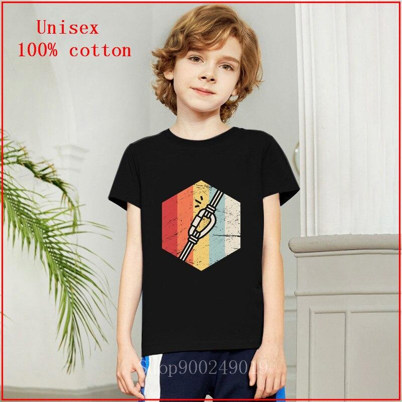 Retro Kids Shirt Vintage Childrens Top Button Up