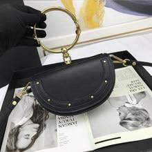 Sacs à main et sacs à main de luxe sacs de créateurs pour femmes 2021 concepteur de luxe pochette mode dîner sac en cuir véritable croissant pack