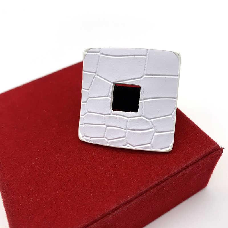 YD & YDBZ Crack หนังแหวนสำหรับเครื่องประดับงานแต่งงานของผู้หญิง Punk PROM Finger แหวนอุปกรณ์เสริมแหวนโกธิคเครื่องประดับขายส่ง Prsten