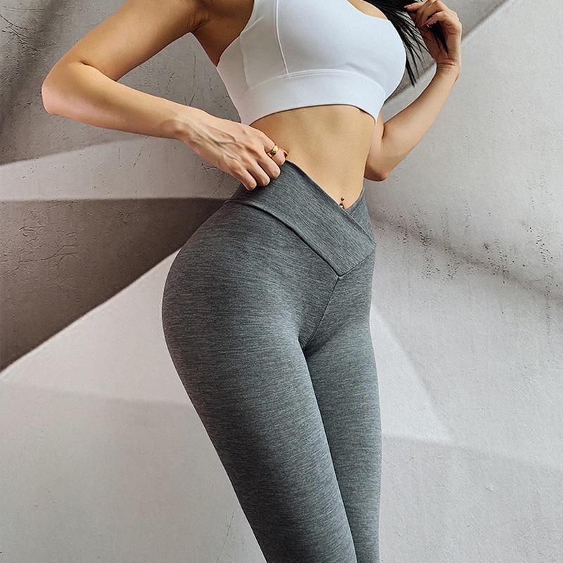 Попробуйте BN 4 цвета Высокая талия Бесшовные сексуальные леггинсы для фитнеса для женщин пуш-ап брюки для тренировки Леггинсы