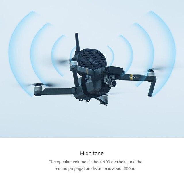 무선 스피커 원격 스피커 메가폰 앰프 Mavic Mini 2 Pro Zoom Air Phantom 3 4 Fimi X8 SE 2020 Hubsan Zino