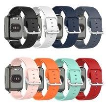 19mm pulseira de silicone relógio banda para xiaomi haylou solar ls01 id205 willful ip68 inteligente relógio de pulso faixas substituição